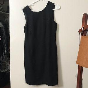 Black cocktail dress, Carmen Marc Valvo (8)